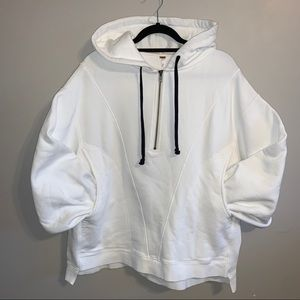 Free People oversized high road pullover hoodie